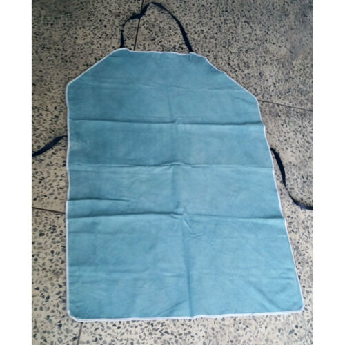 """LEATHER WELDING WELDER/'S APRON BIB OUTFIT COVERALL COVER W27/"""" x  L39/"""" Korea"""