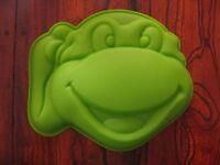Teenage Mutant Ninja Turtles Silicone Mold Birthday Cake Pan Birthday Favor