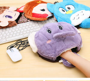 Usb Hand Warmer Heater Heating Winter Laptop PC Mouse Pad Cartoon Cute Lovely eBay