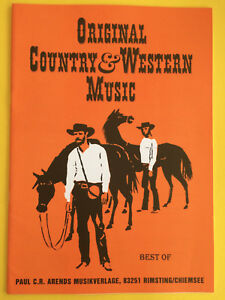 Original-Country-amp-Western-Music-Best-of-Vocal-Piano