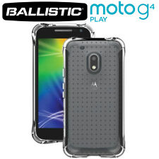 Ballistic Motorola Moto G4 Play Jewel Bumper Gel Case Cover Clear, JW4187-A53N