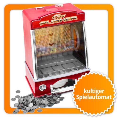 Münzschieber Spielautomat Spielhallen Spiel Automat Coin Pusher Geldspielautomat