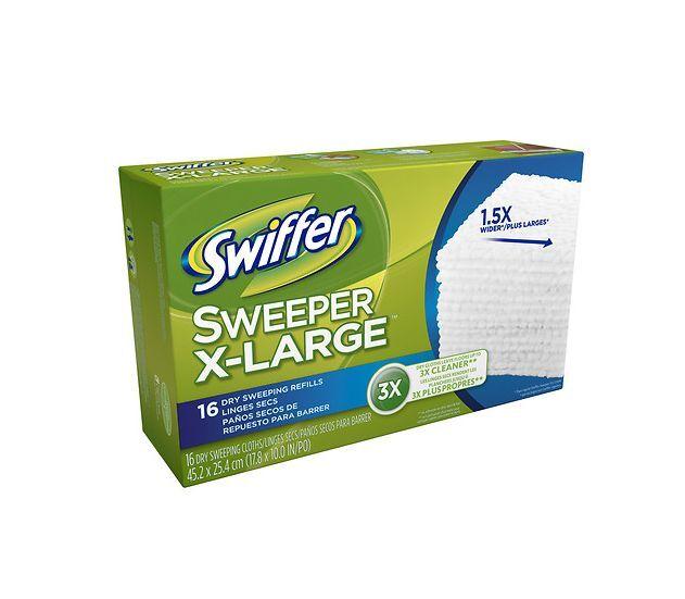 Swiffer Dry Cloth Refill 17 8 X 10 Regular 16 Count