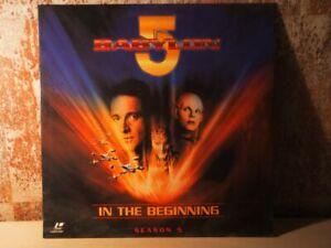 BABYLON-5-Season-5-In-the-Beginning-LASERDISC-neu-OVP-eingeschweisst
