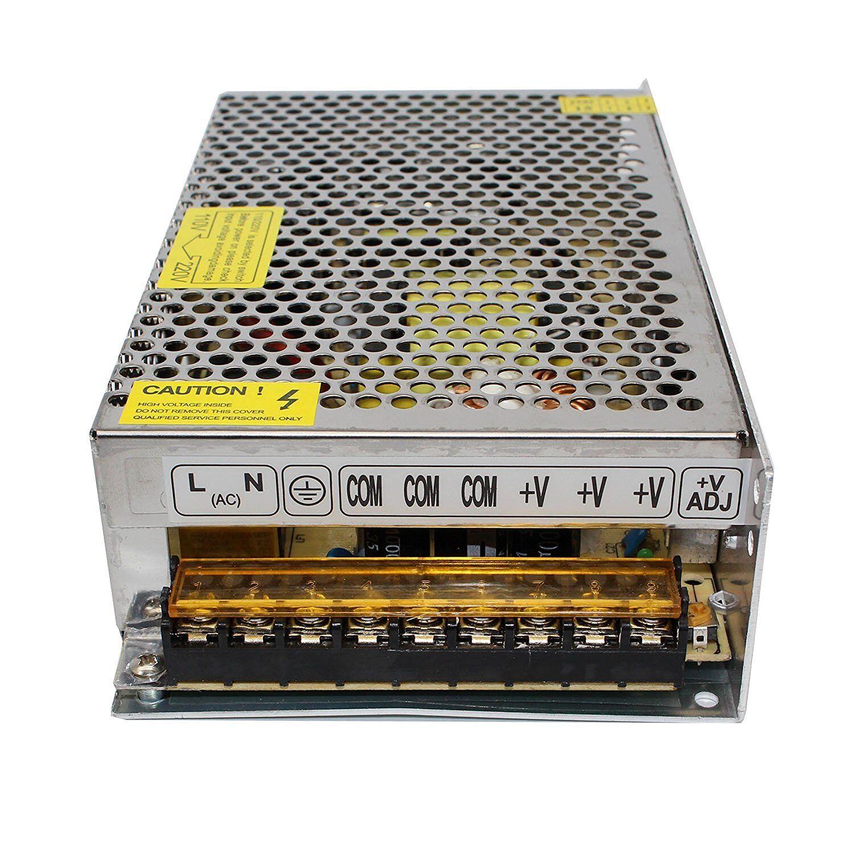 Details about DC 24V 10A 240W Converter Adapter Power Supply for LED Light  CCTV AC110V 220V