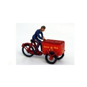 Royal-Mail-Tri-Cycle-including-transfers-OO-Scale-Unpainted-Langley-F246