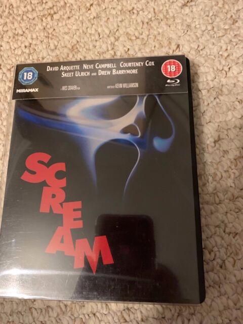 Scream - Blu-ray Steelbook - Neve Campbell, Courteney Cox, Drew Barrymore