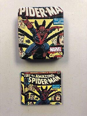 MARVEL COMICS THE AMAZING SPIDER-MAN VENOM KAWAII BI-FOLD WALLET BRAND NEW