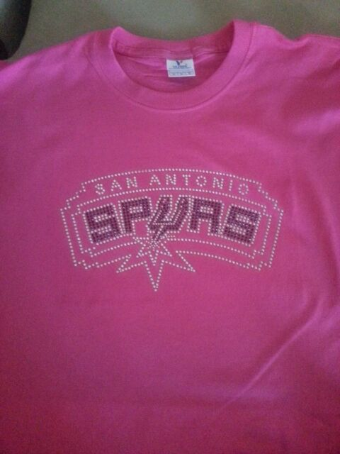 new style 5130a 70b8a San Antonio Spurs - Bling Rhinestone Shirt