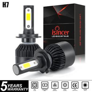 2x H7 LED Headlight Kit 1950W 295000LM High-Low Beam Bulb CREE 6500K Lamp White