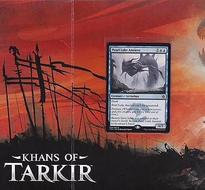 English Khans of Tarkir MTG Magic 1x Pearl Lake Ancient NM-Mint
