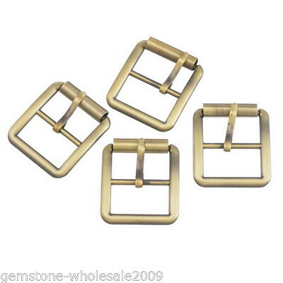 "10PCs Bronze /""Ri/"" Shape Metal Buckles DIY Shoe Bag Sewing Accessories 30x27mm"