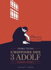 L-039-histoire-des-3-Adolf-edition-90-ans-Tome-1-deballe-tome-2-emballe-Tezuka