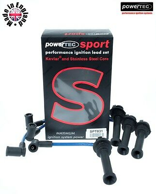 Powertec Sport 8 Mm Encendido contactos Ford Focus 1.4 1.6 1.8 2.0 ZH Zetec 16 V Puma