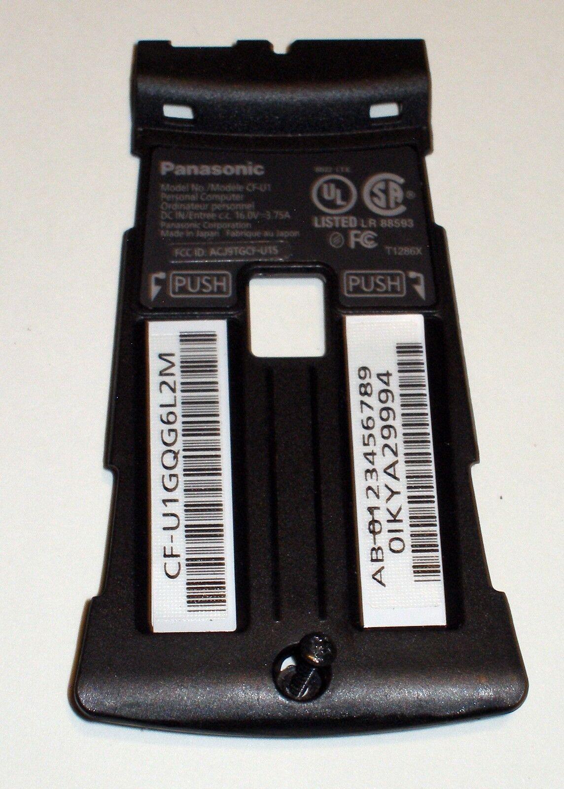 Panasonic Toughbook U1 CF-U1 Rear Center ID Plate Assembly
