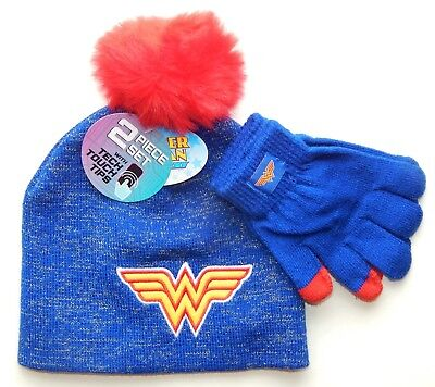 Wonder Nation Girl/'s Owl Beanie Hat Gloves Scarf Set