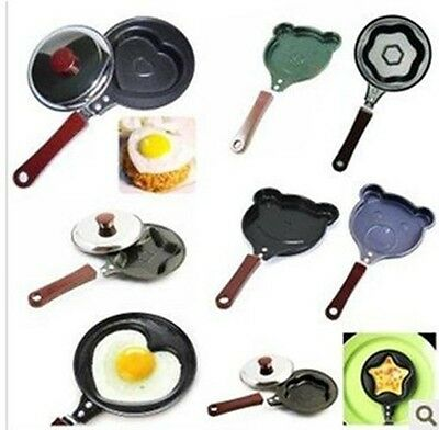 7 Design Creative kitchen Egg Pancake Frying Pan Cooker Mini Non-Stick Pot