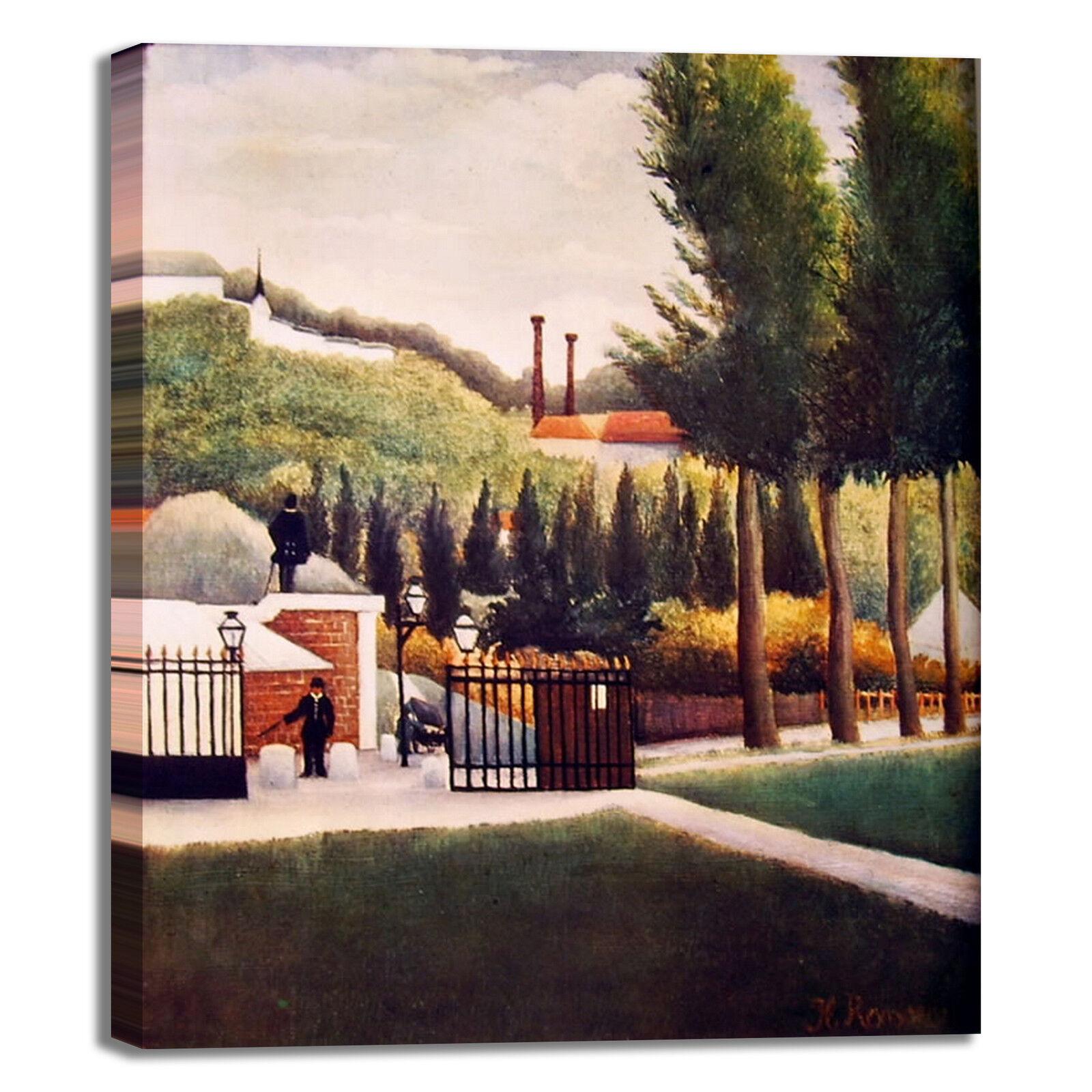 Rousseau casello daziario design quadro telaio stampa tela dipinto telaio quadro arRouge o casa c2926b