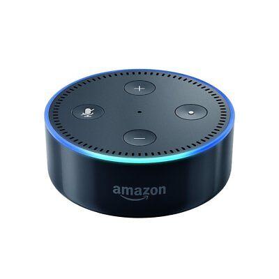 (AU MODEL) AMAZON ECHO DOT BLACK (GEN 2) AUDIO STREAMER ALEXA VOICE ASSISTANT