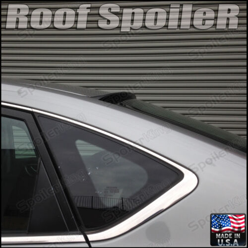 244R Rear Roof Window Spoiler Made in USA Fits: BMW E90 3series 04-11 4dr