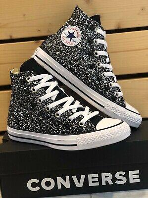 Converse Scarpe All Star Hi Total Glitter e borchie Donna