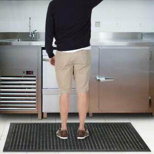 Black Anti Fatigue Floor Mat 36 60