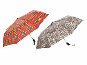 Trespass-Printed-Compact-Tri-Fold-Automatic-Umbrella