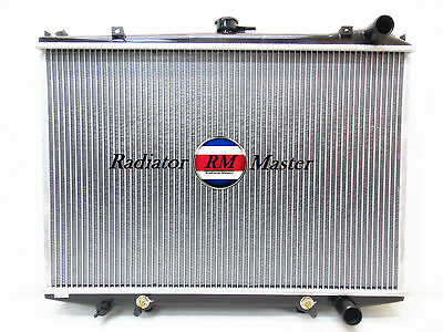 2ROW Aluminum Radiator For 1998-2004 Nissan Frontier 2.4L 3.3L 99 2000 2001 2002
