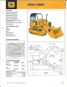 Equipment-Brochure-John-Deere-JD-350-C-Crawler-Loader-c1977-E4590