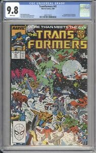 Marvel-Comics-TRANSFORMERS-41-CGC-9-8-NM-1988-White-Pages