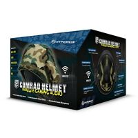 Hyperkin Comrad Gaming Audio Helmet Headset For Xbox 360 Ps3 Wii Pc Mac -