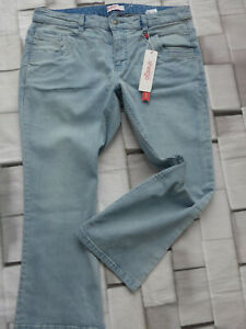 Sheego-Jeans-Ladies-7-8-Trousers-Capri-Pants-Size-44-to-58-Blue-046-806-New