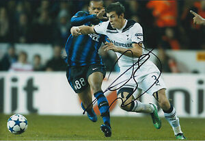 3a84c8b0c Image is loading Gareth-BALE-SIGNED-Autograph-12x8-Photo-AFTAL-Real-