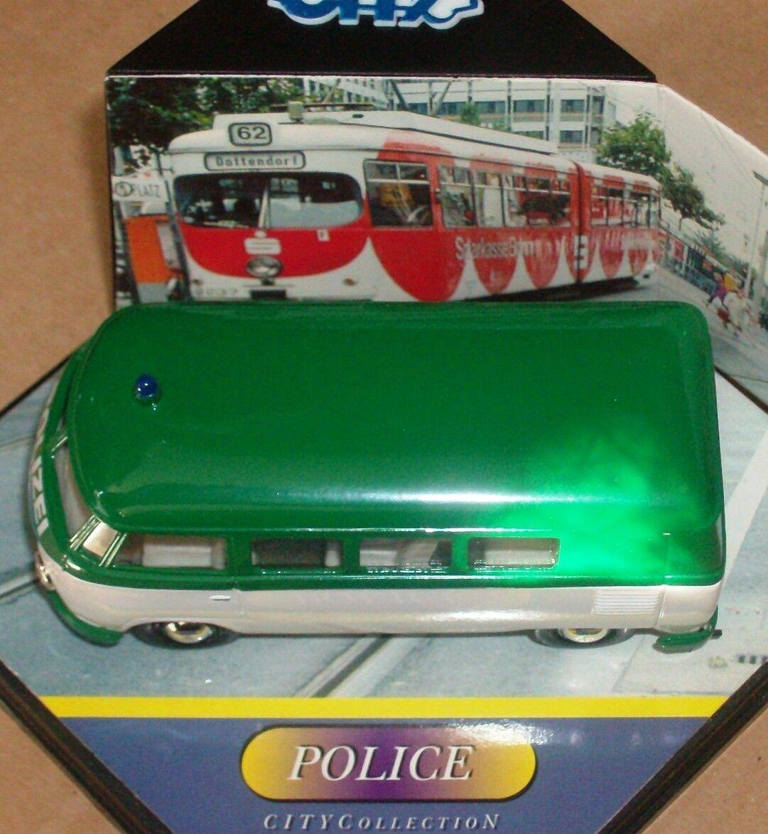 VITESSE CITY SCHUCO VW T1 VAN GERMAN POLICE POLIZEI 1 43 NEW BOXED LTD EDT