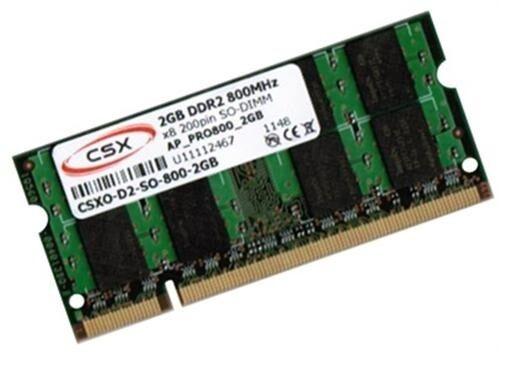 2GB RAM LG Netbook X110 X120 X130 X140 SO-DIMM 800 MHZ Markenspeicher CSX/HYNIX