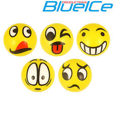 Cute Yellow Foam Ball Smiley Face Squeeze Bouncy Stress Relief Toy Kidz ADHD UK