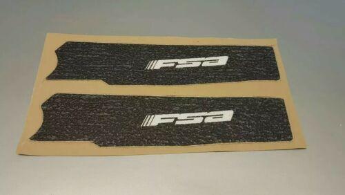 FSA-Bike Pinza E VINILE braccio di manovella Decalcomania Adesivi Protezione MTB