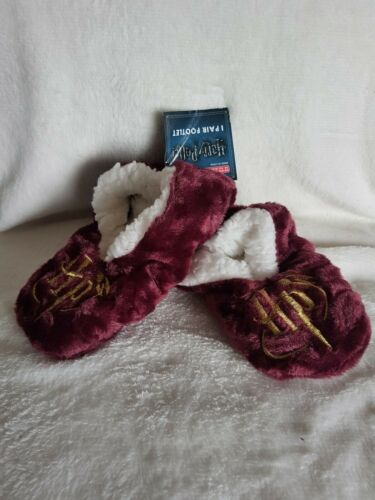 Harry Potter Boys Slippers Footlets Age 3-6 Years 1 Pair Primark Polyester New