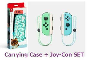 Nintendo-switchanimal-cruzar-Joy-con-Estuche-Nuevos-Horizontes-especial-2set