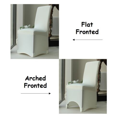 Chair Covers for Dining RoomFlat ArchedParty Wedding Banquet Stretch Fit