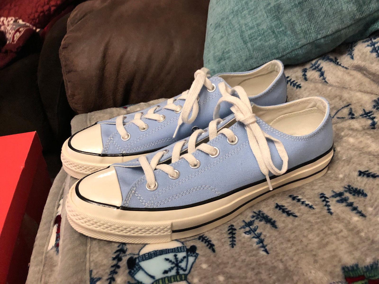 Converse Converse Converse Chuck Taylor All Star 1970s Größe 8 UK Men Sky Blau Light Blau 398571