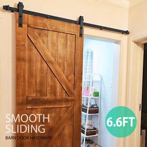 Image Is Loading 6 Types Sliding Barn Door Hardware Kit Track