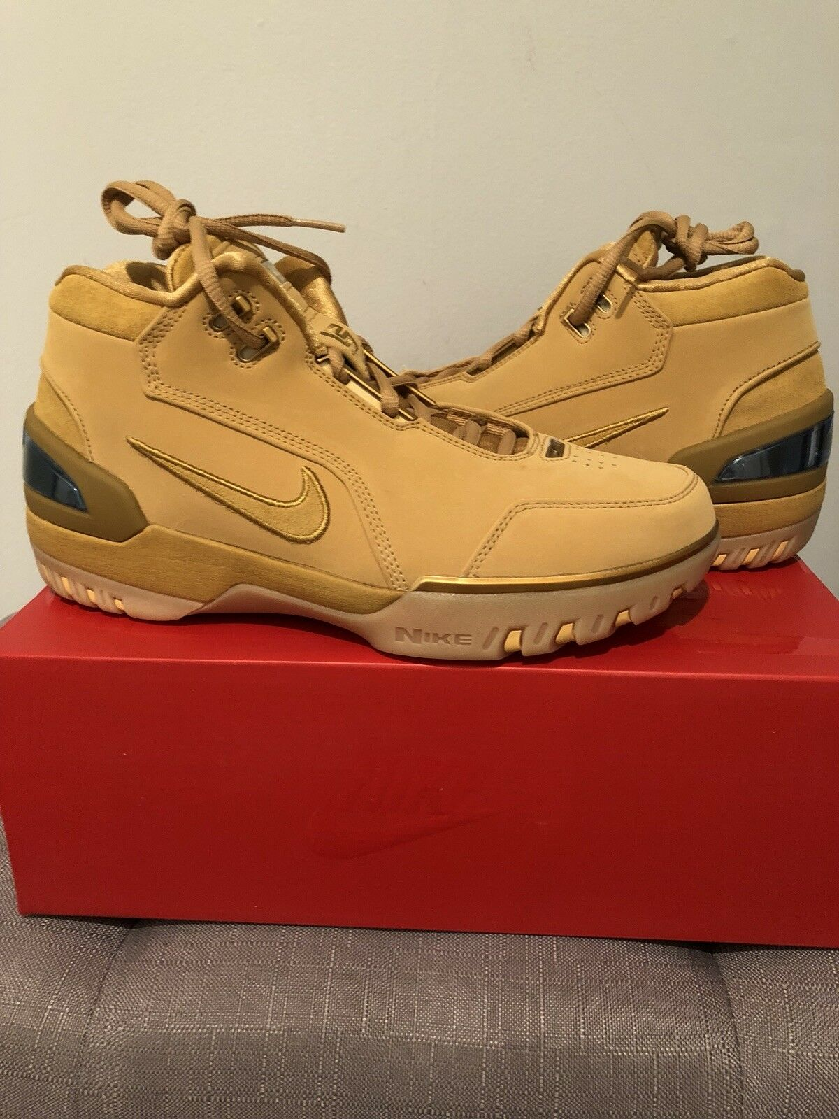 NIKE Air Zoom Generation Wheat size 8