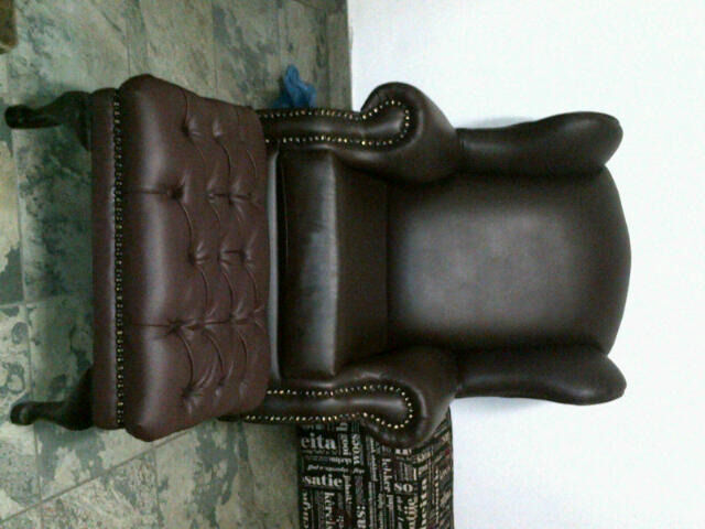 Wingback and Footstool