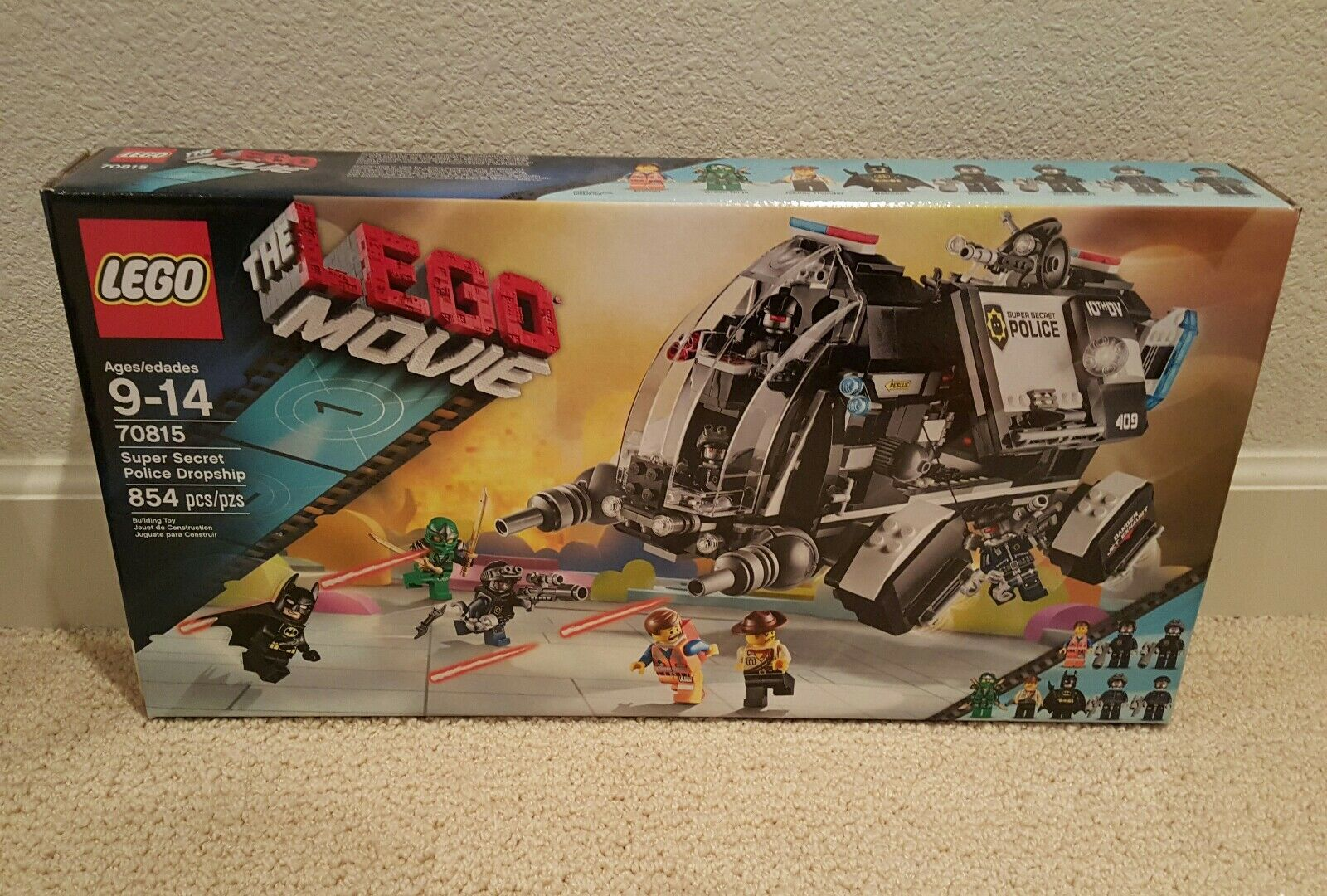 Lego 70815 Super Secret Police Dropship