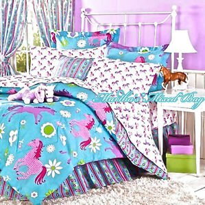 Turquoise Full Size Bedding Set For Girls