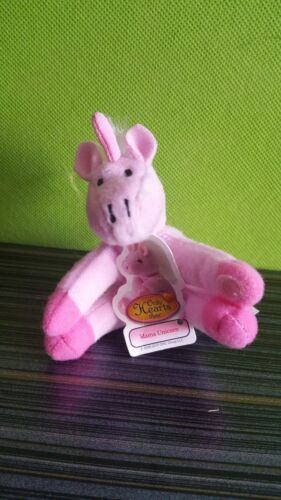 """Only Hearts Pets /""""MAGIC THE PINK MAMA UNICORN/""""  Only Hearts Club VERY RARE"""