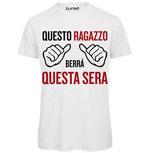 T-Shirt-Divertente-Uomo-Maglietta-con-Stampa-Ironica-questo-Ragazzo-Berra-039-Tuned