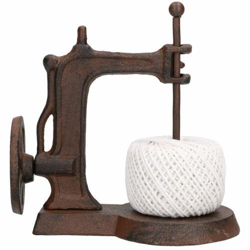 Sewing Machine String Twine Holder Dispenser Cast Iron Plant Garden Border Plot