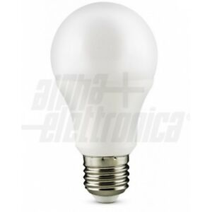 Lampadina a Led E27 - 10W - 12Vdc - 800 LUMEN  Bianco caldo 2700K Alpha  LB131/1